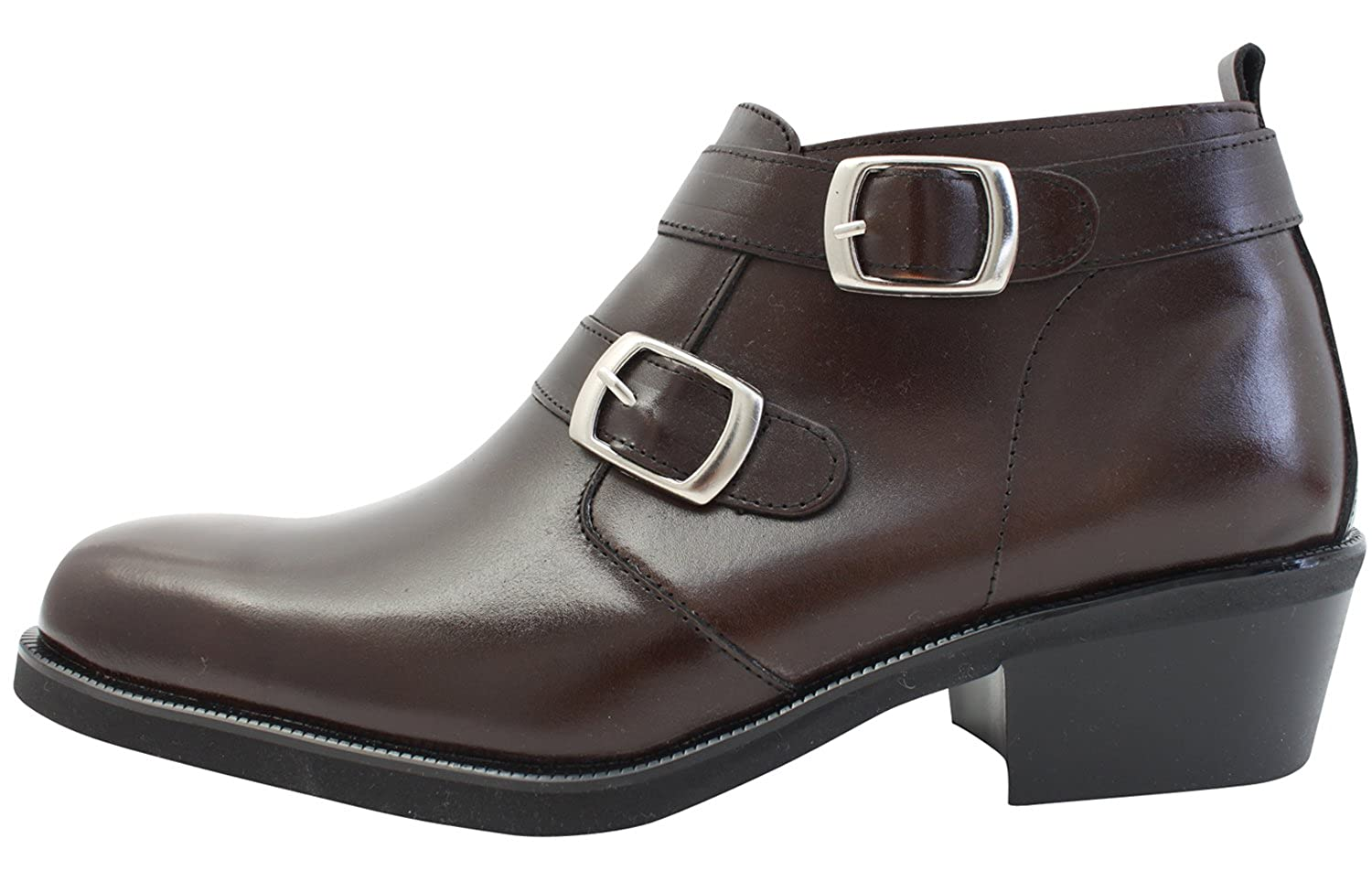 VOVOshoes Men's Leather Formal Casual Ankle Boot Shoes VOVO-017
