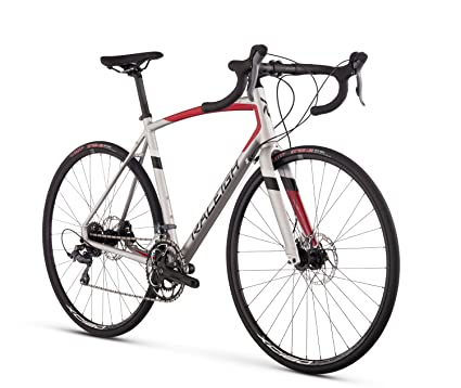 Raleigh Bikes Merit 2 Endurance Road Bike, Silver, 54cm/Medium best cyclocross bikes