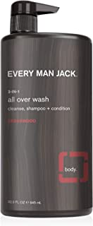 product image for Every Man Jack 3-in-1 All Over Wash, Cedarwood, 32-ounce