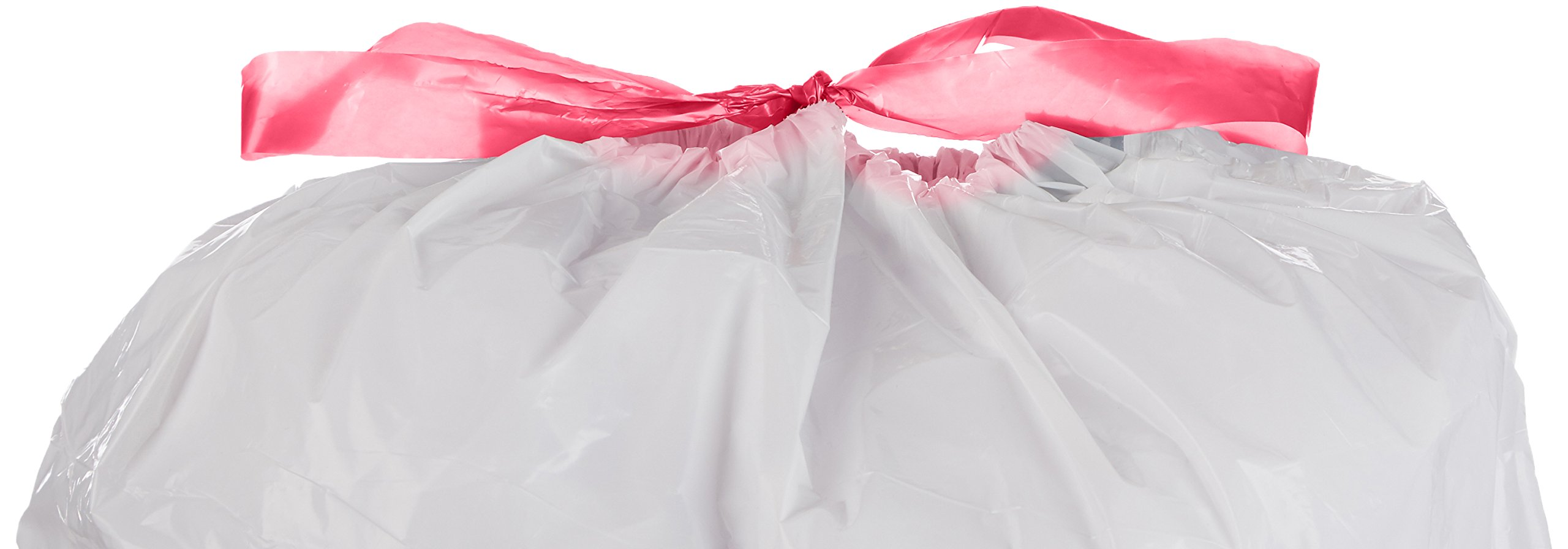 AmazonBasics 12-16 Gallon Tall Kitchen Trash Bag with Draw String ...