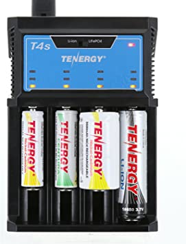 Tenergy TN261 LCD Display Universal Battery Charger for NiMH//NiCd//Li-ion Battery
