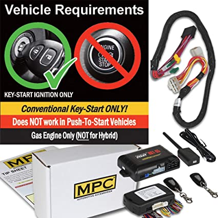 Amazon com: MPC Complete 1 Button Remote Start Kit with T