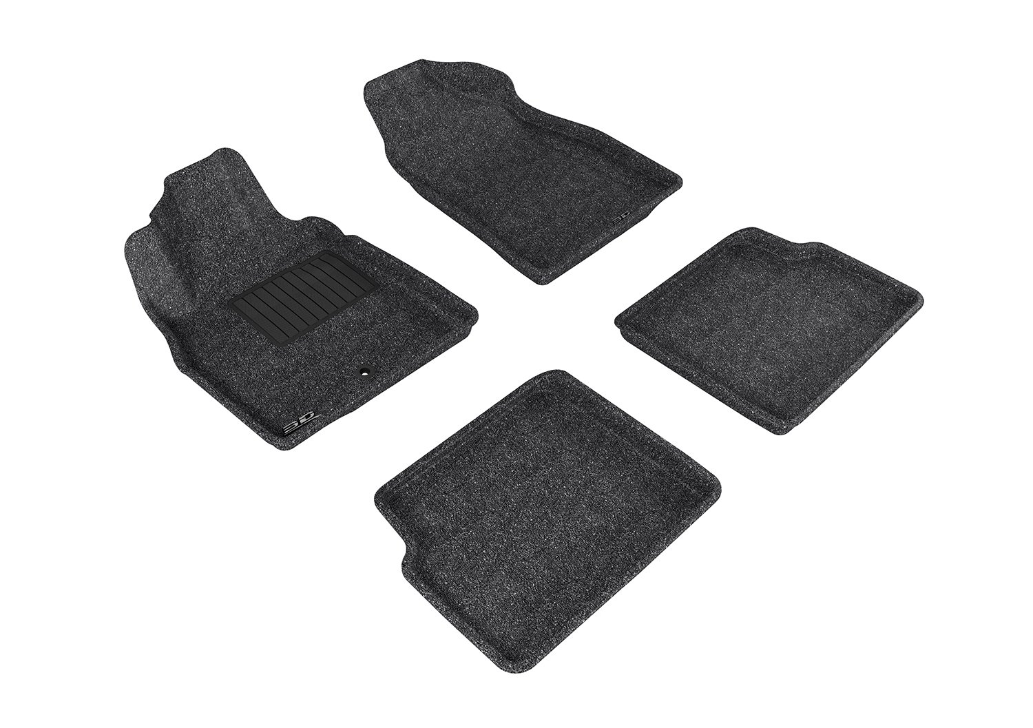 Tan L1CH02122202 3D MAXpider Second Row Custom Fit All-Weather Floor Mat for Select Chevrolet HHR Models Classic Carpet