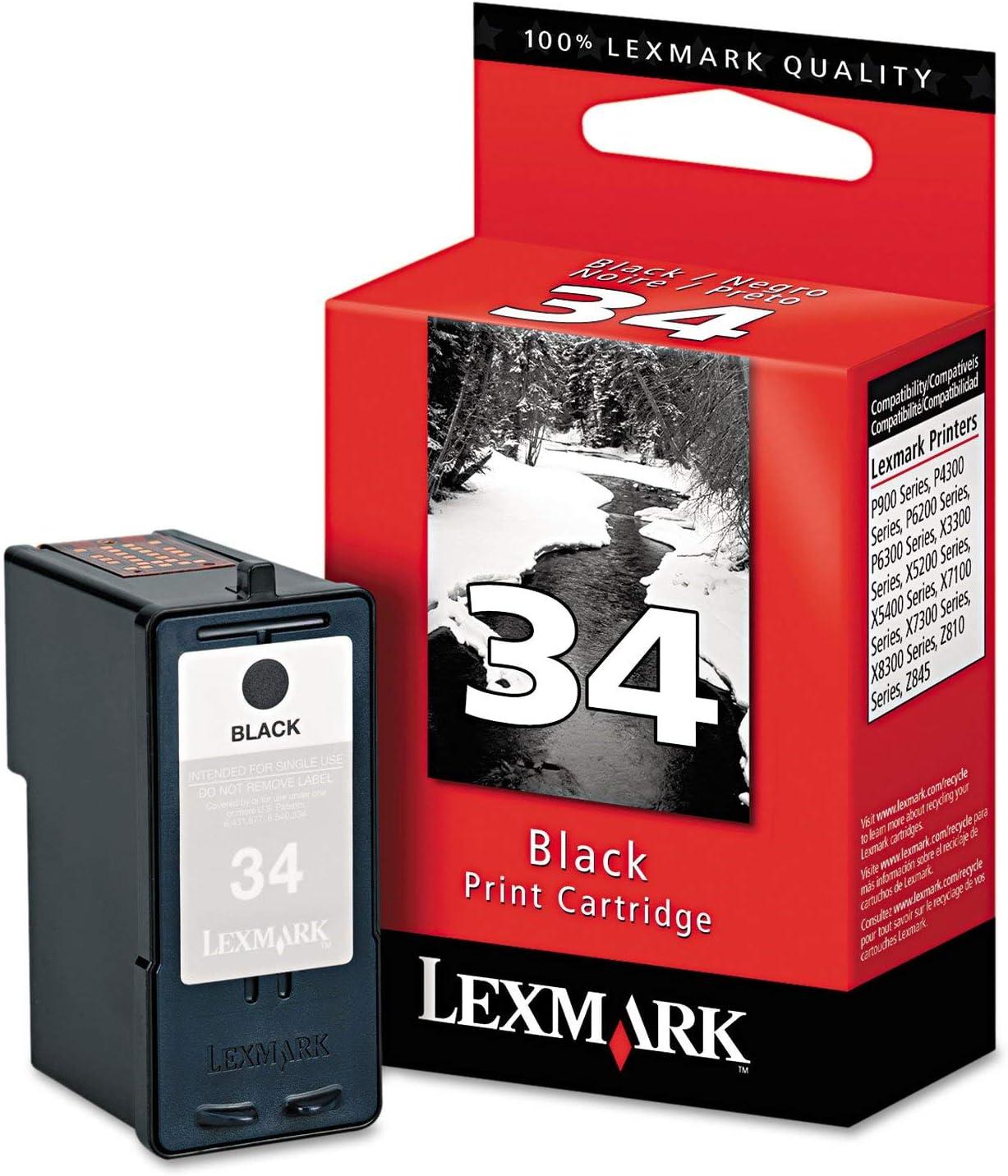 Lexmark #34 Black Print Cartridge