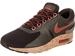 low priced b4d67 f7dd8 NIKE Mens Air Max Zero SE Velvet Brown Dusty Peach Running Shoe 11