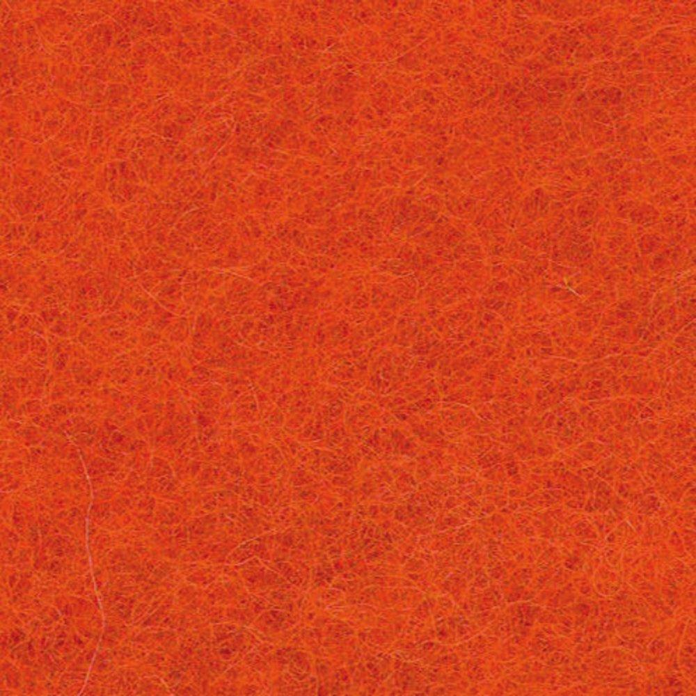 Efco 50 g Wool for Felting, Orange