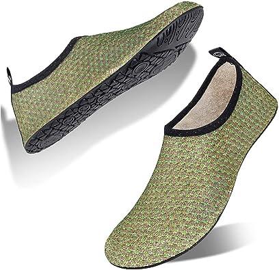 Women and Men Water Shoes Barefoot Quick-Dry Aqua Socks for Beach Swim Surf Yoga