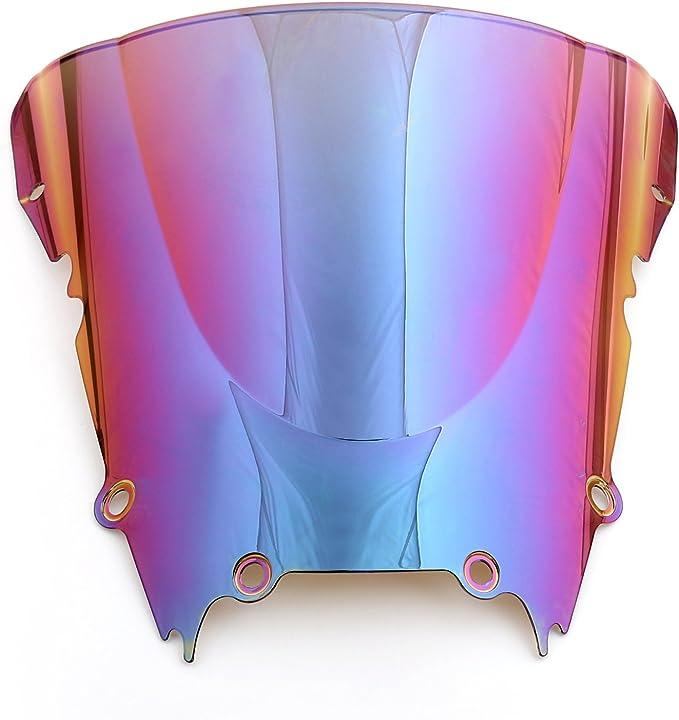 Areyourshop Pare-brise double bulle pour YZF 600 R6 1998-2002