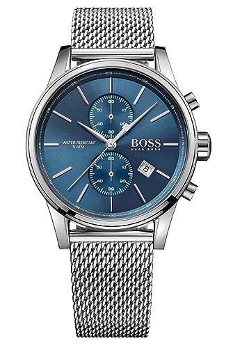03b7609198401 HUGO BOSS Men s Chronograph Quartz Watch with Stainless Steel Bracelet –  1513441