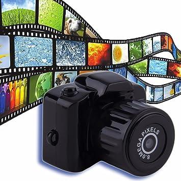 Y3000 Mini 720P 8 MP cámara deporte videocámara hd más pequeña ...