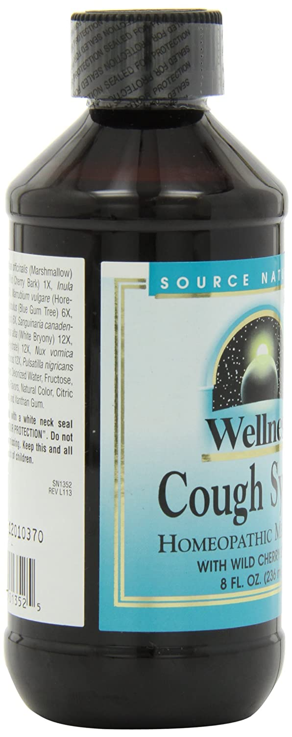 Amazon.com: Source Naturals Wellness Cough Syrup with Wild Cherry ...