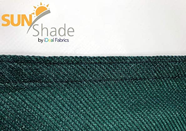 Sun Shade 12 x 12 x 12 Breathable high Density Knitted Fabric Green Triangle Sun Shade SAIL UV Block