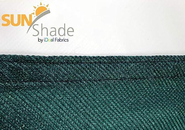 Sun Shade 12 x 12 x 12 Breathable high Density Knitted Fabric Green Triangle Sun Shade SAIL UV Block