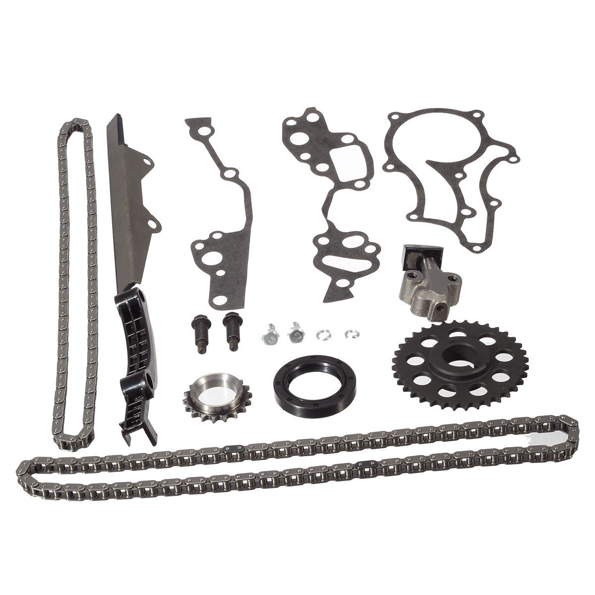 TK10120 Timing Chain Kit//Replacement for Toyota 2.4L 4Runner Pickup Celica 4-Cylinder 22RE 22REC 22RTEC 1985-1995