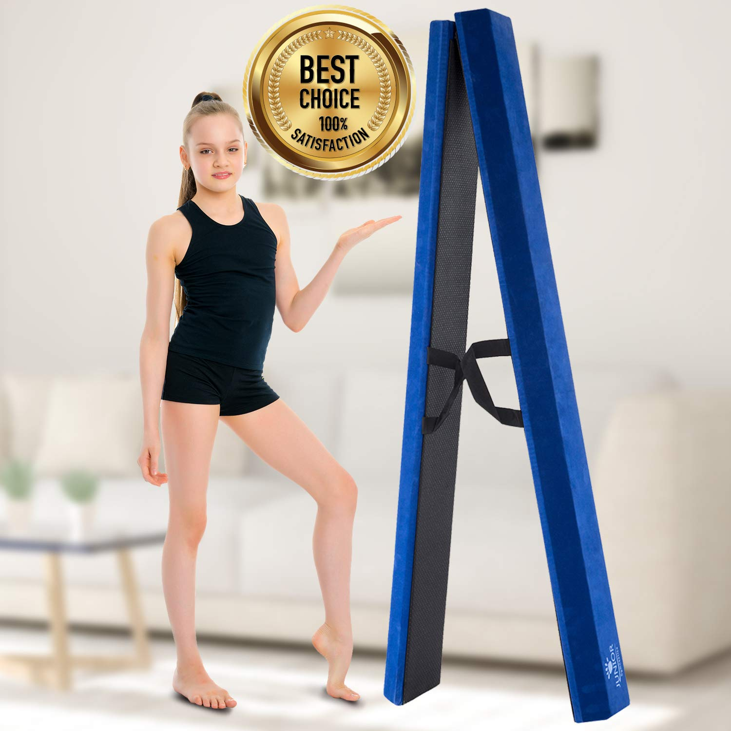 Amazon.com: Junior Gymnastics Balance Beam – 8 pies plegable ...