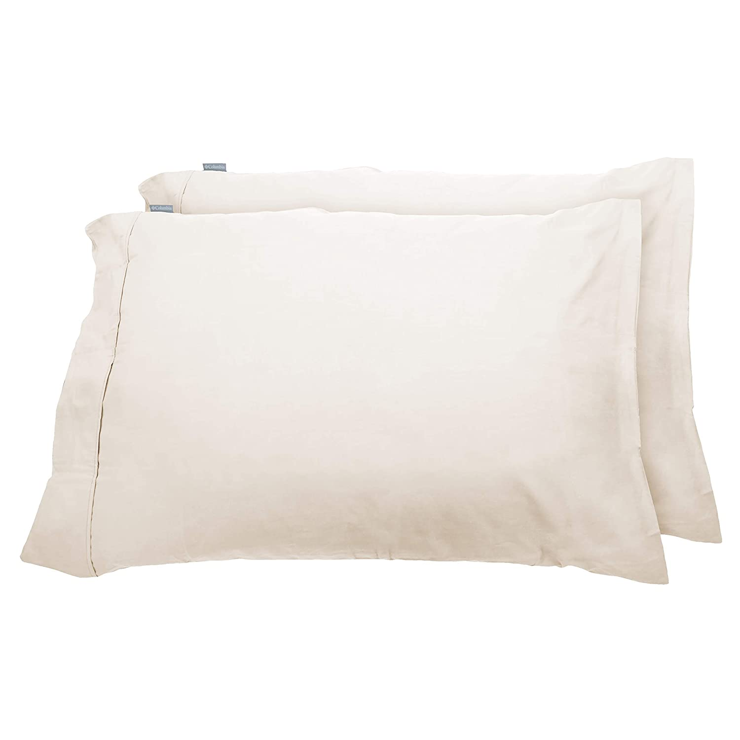 Columbia Moisture Wicking Temperature Regulating Pillowcases, 2-Piece (Ivory)