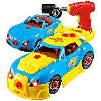 Think Gizmos Take Apart Toy Car for 3 4 5 Year Old Boys & Girls – Fun Toy with Working Drill - Build Your Own Car Kit…
