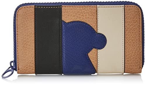 Tous Patch Greet, Cartera para Mujer, Varios Colores (Multi Camel), 2x10x19
