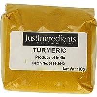 JustIngredients Essential Cúrcuma - 5 Paquetes de 100