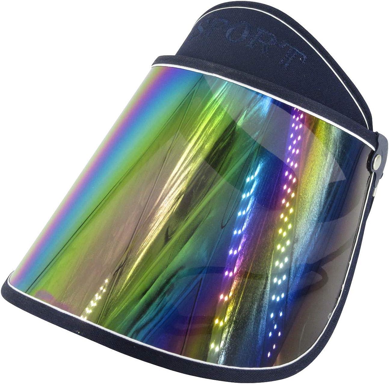Lightweight /& Portable Unisex Visor Running Tennis Made of PVC 11 Colors Available 1 Pack Climbing Fishing SENDILI Sun Cap Ideal for Golf