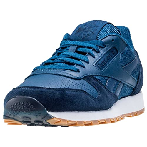 4f9343fd5520b1 Reebok Classic Leather SPP - Noble Blue College Navy  Amazon.co.uk ...