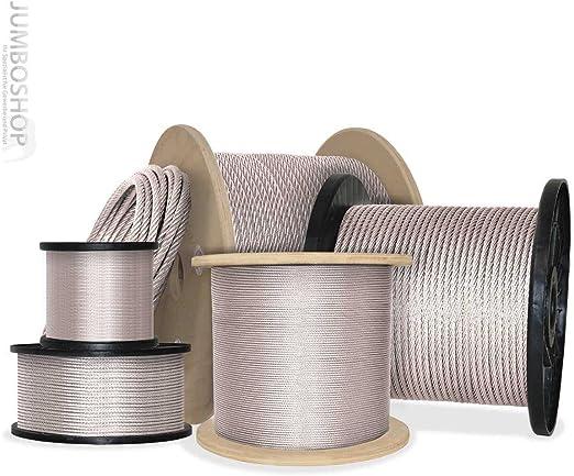 Seilwerk STANKE Cuerda de Goma Roja 10 mm 10 m Cuerda de goma Cuerda de tensi/ón Cuerda de caucho