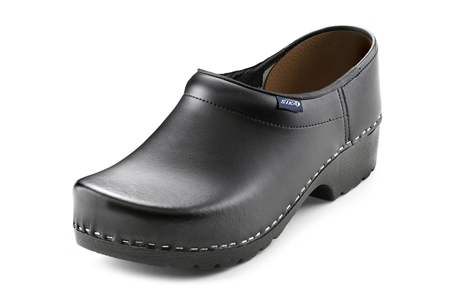 Sika Footwear Traditionell Arbeits-Clogs schwarz | 38
