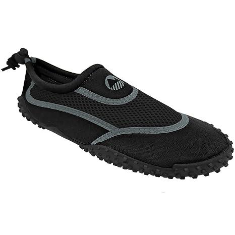 Hishoes Damen Herren Badeschuhe Aqua Schuhe Ultraleichte