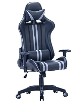 KAYELLES Fauteuil De Bureau Racing One Gaming Chaise SportErgonomique Support