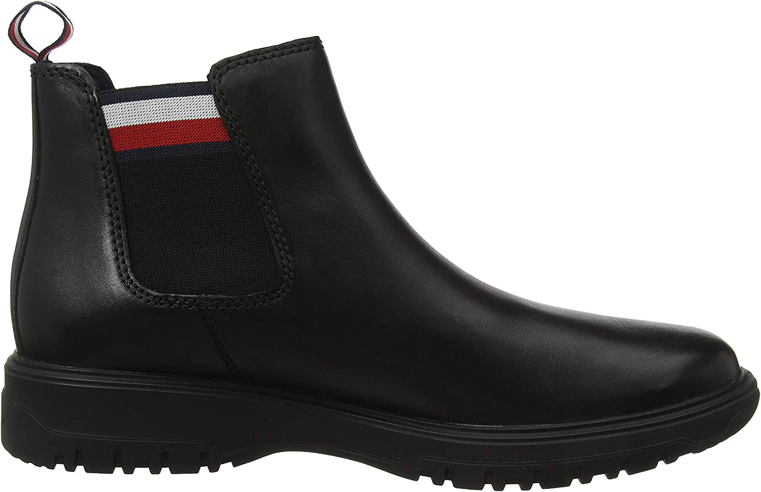 Tommy Hilfiger Cleated Outsole Chelsea Boot Bottes /& Bottines Classiques Homme