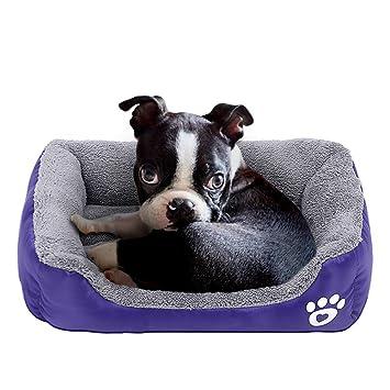 PowerKing Colchón Cuadrado para Cama de Perro pequeño, Lavable, Ideal para la habitación o la Parte Inferior Impermeable: Amazon.es: Productos para mascotas