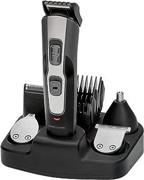 ProfiCare BHT 3014 - Set de Cortapelo con Afeitadora Barba, Recortador de Precisión y Cortador Oído Nariz, Batería Recargable, Negro: Amazon.es: Salud y cuidado personal