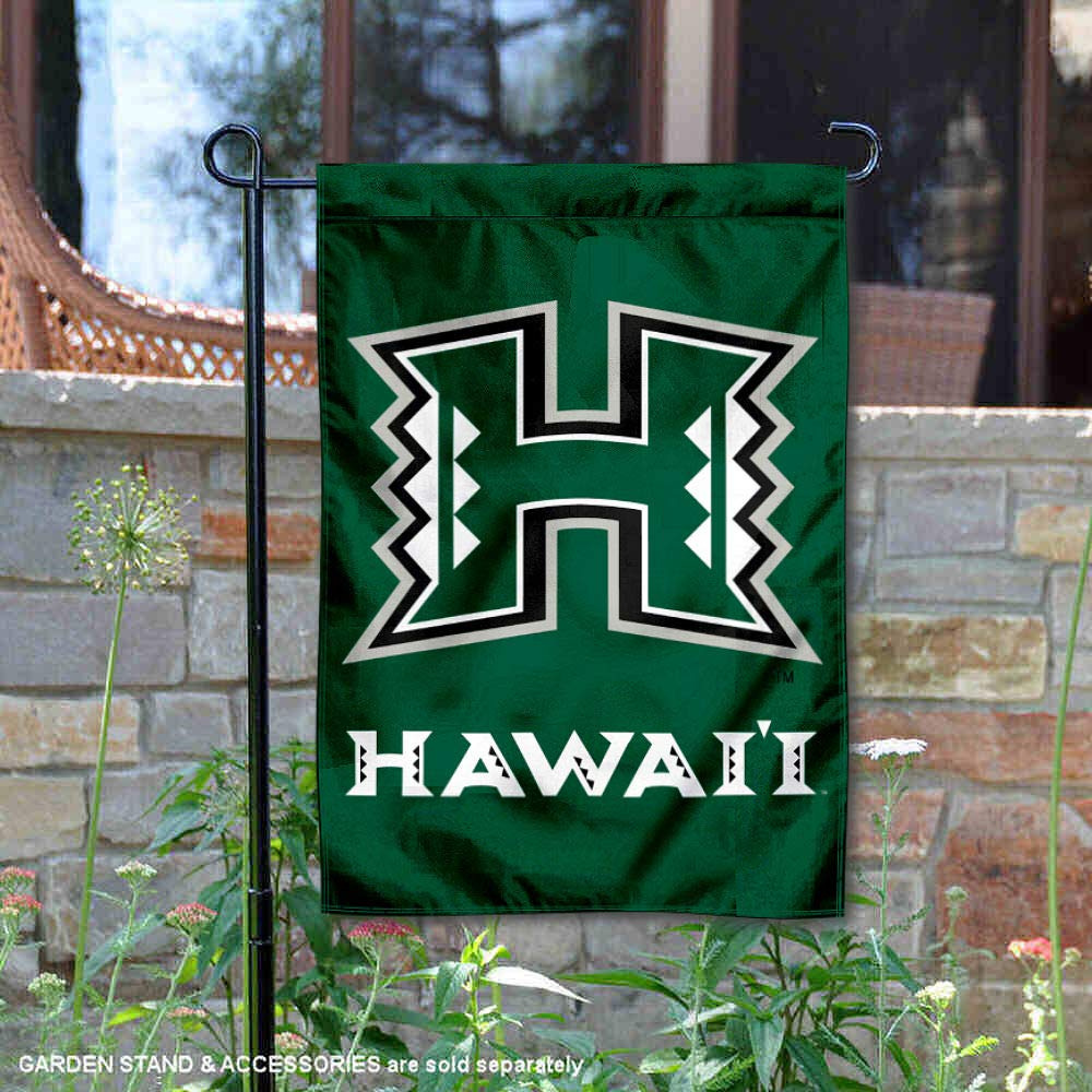 Hawaii Warriors Garden Flag College Flags and Banners Co