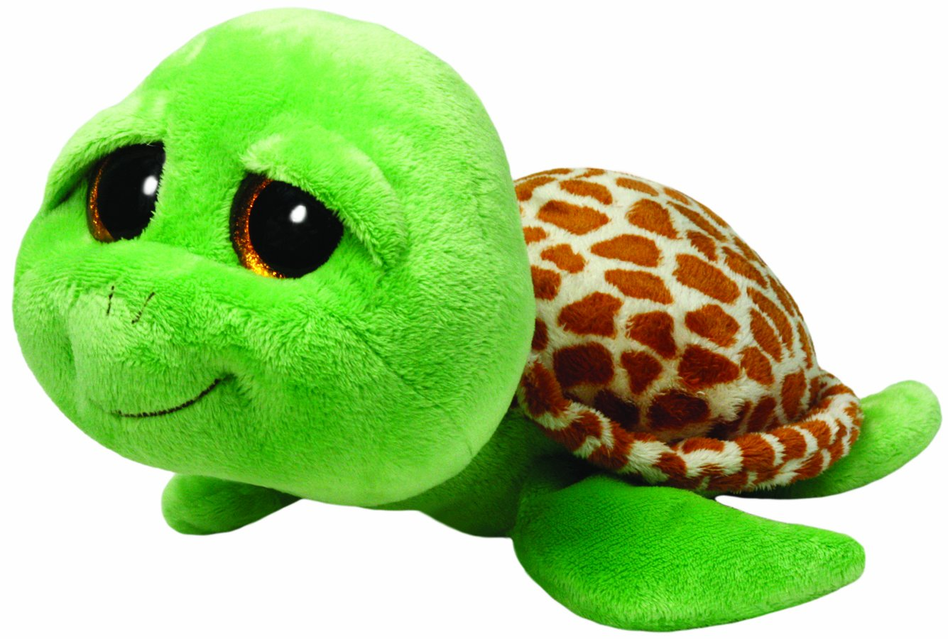 Ty - Zippy, peluche tortuga, 40 cm, color verde (36809TY): Amazon.es: Juguetes y juegos