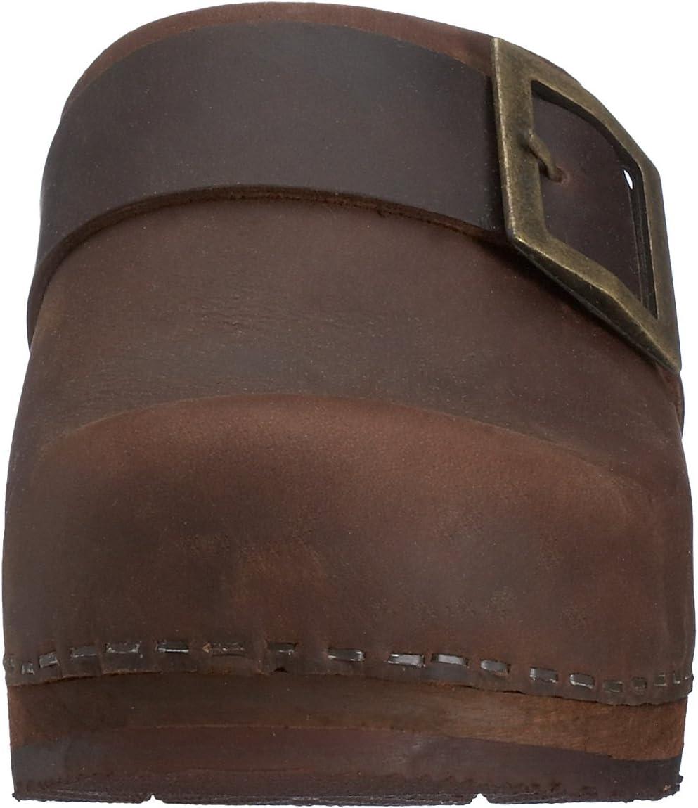 Sanita Urban Open Damesklogs Braun Antique Brown 78
