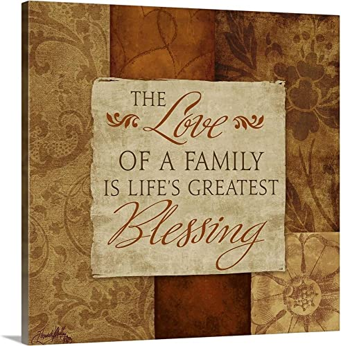 Love of a Family Canvas Wall Art Print