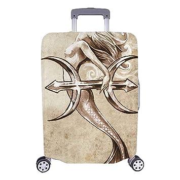 Maleta de Viaje con elección de los viajeros del Tatuaje de Sirena ...
