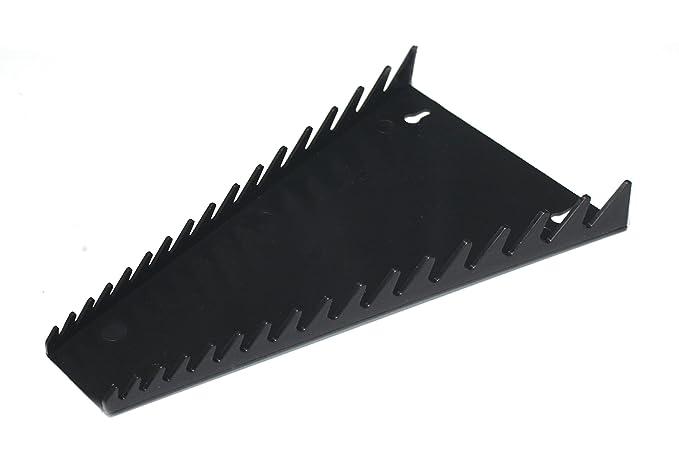 afac940454bf JSP Manufacturing 16 Tool Standard Wrench Holder Rack Organizer Black Made  in USA