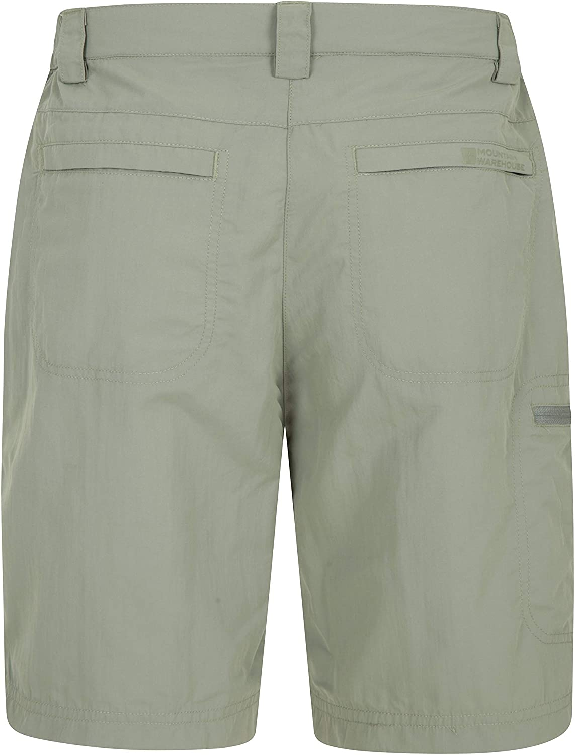 Pockets -Best for Walking Lightweight Ladies Short Pants UV Protection Trousers Stretch Bottoms Mountain Warehouse Navigator Womens Anti-Mosquito Shorts Travelling