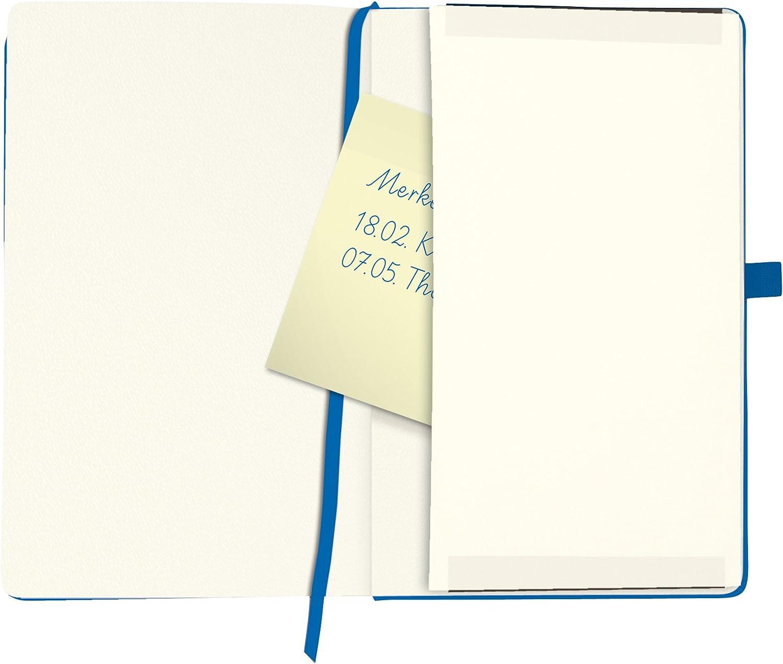 96 Blatt Herlitz 11369121 Notizbuch my.book Classic A6 blau liniert