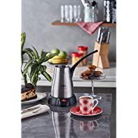 Sinbo SCM-2957 Elektrikli Cezve Kahve Makinesi, Inox, Inox
