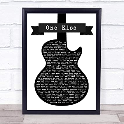 Amazon com: CEDBUYOO Calvin Harris & Dua Lipa One Kiss Black