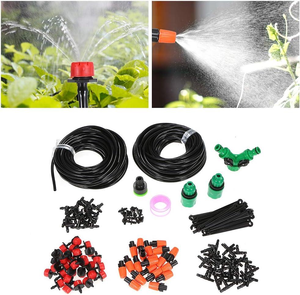 Fesjoy Gew/ächshausbew/ässerung DIY Wasser sparen Automatische Micro Tropfbew/ässerung Garten Gew/ächshaus Bew/ässerung Spray Selbstbew/ässerung Kits