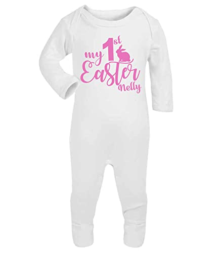 Personalised my first easter babygrow baby vest new baby gifts personalised my first easter babygrow baby vest new baby gifts newborn baby gifts personalised babywear baby negle Choice Image