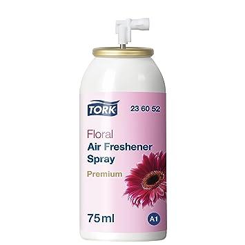 Tork 236052 Lufterfrischer Spray mit Blütenduft / Neutralisiert ...