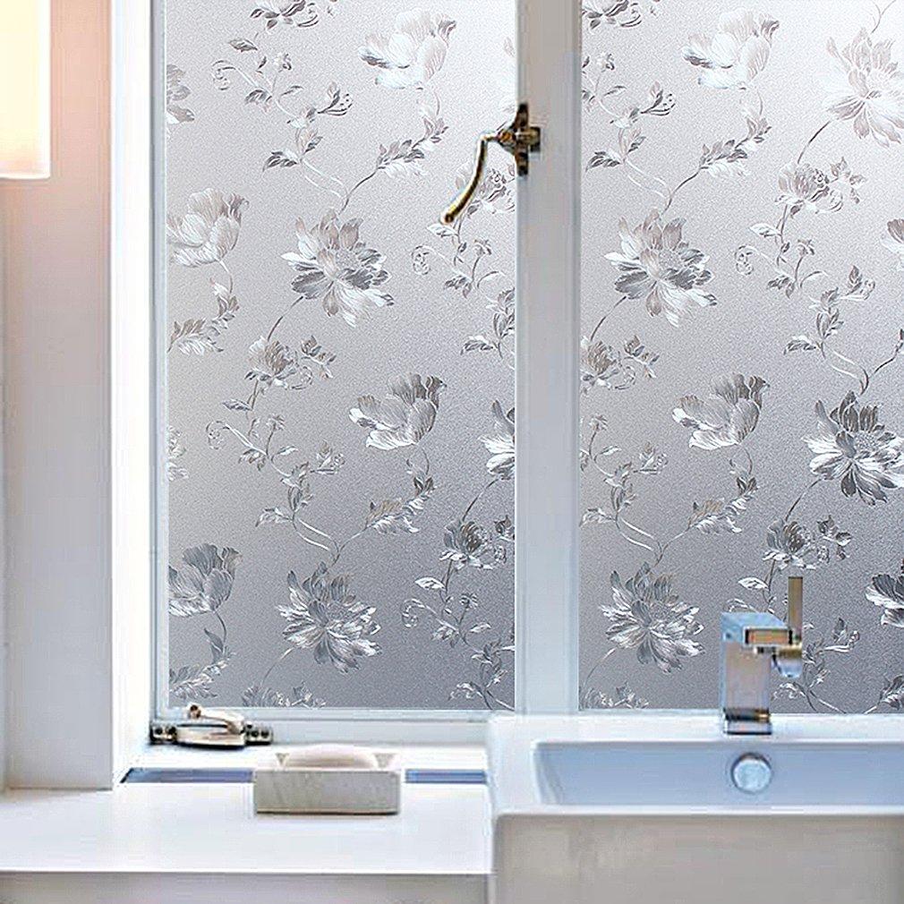 Amazon Kinlo 90X200CM Hibiskus Blume Sichtschutzfolie