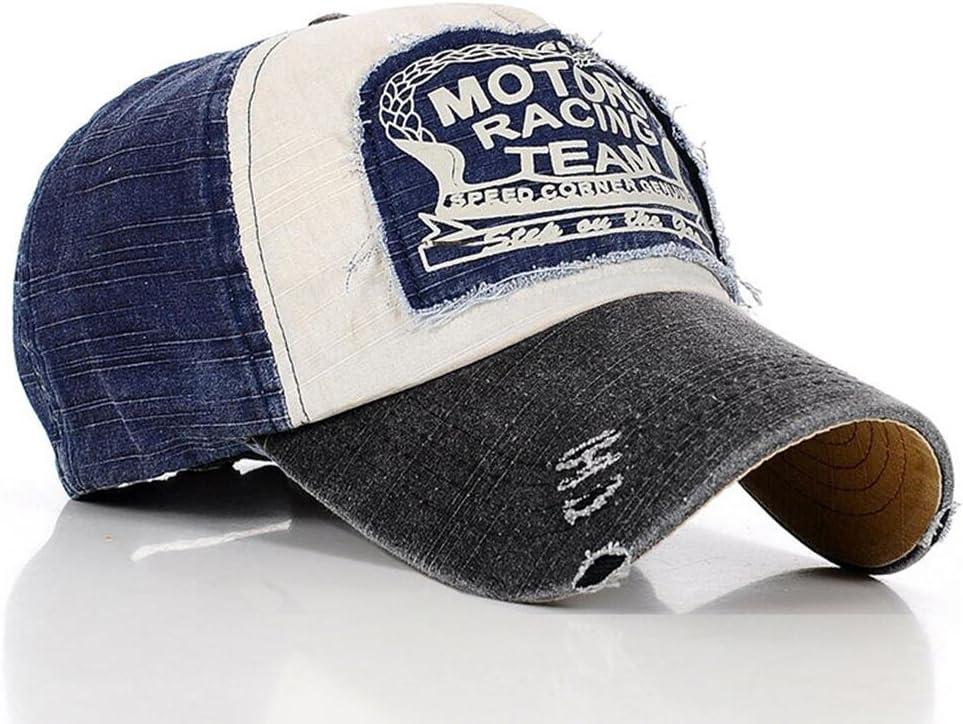 Gorra de béisbol de algodón, con tira ajustable, diseño casual ...