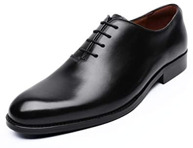 9259614bb88 DESAI Classic Oxford Dress Shoes Mens Formal Business Lace-up Full Grain  Leather Shoes for Men