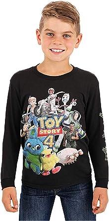 Disney Toy Story 4 Woody and Friends - Camiseta de manga larga para niño