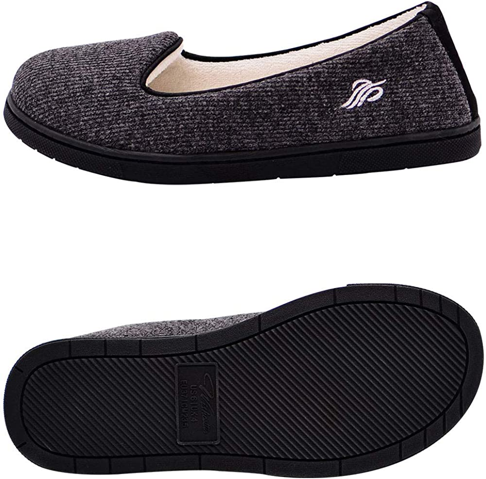 Wishcotton Light Breathable Slippers with Nonslip Sole